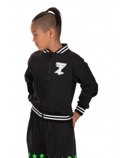 TZ Collegiate Jacket Black